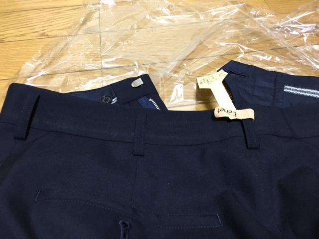 ベルト部分の汚れ「シミ抜きタグが付けられ「シミは落ちました」のマークにチェックされてきたが、色移りで汚れていただけだったんだけど・・汗 。でも色移りは少し薄くなった。